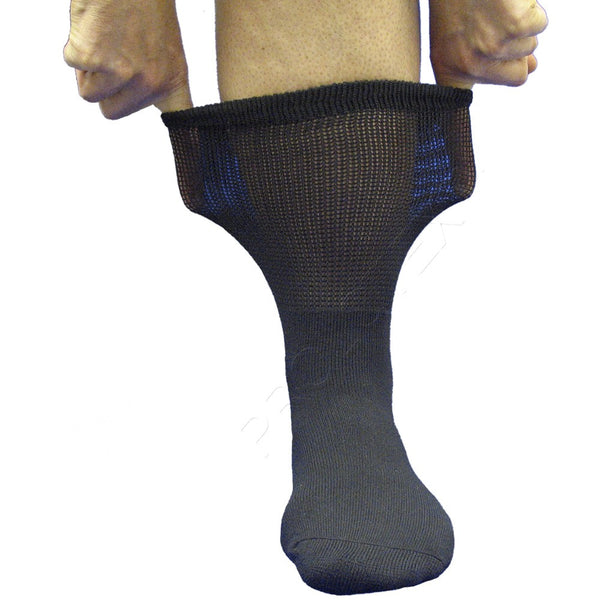 Stretchy Cuff RELAXED FIT Far Infrared Socks