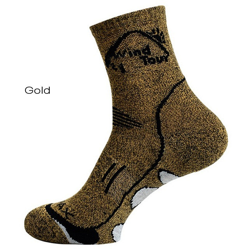 Gold CoolMax Thermal Socks