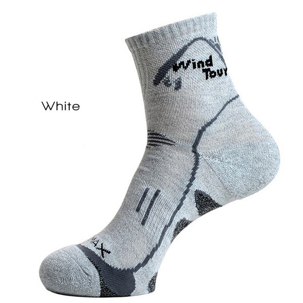White CoolMax Thermal Socks