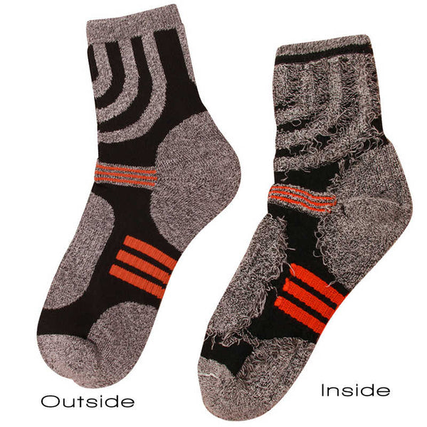 Inside & Outside view Sporty Coolmax Socks