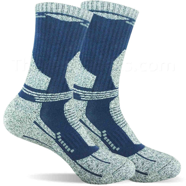 Dark Blue Warm Bamboo Blended Thermal Socks for Men - Buy Warm Socks