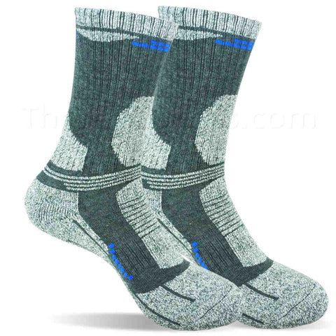 Warm & Cozy Bamboo Blended Thermal Socks for Men - Dark Gray