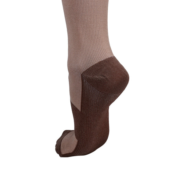 Heel and Sole Copper Anti-Fatigue Compression Knee High Socks