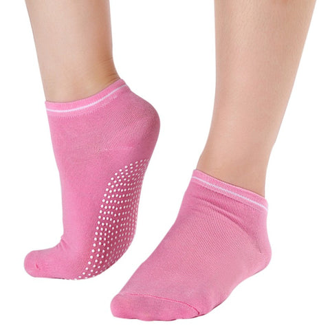 Pink Pilates Socks for Women