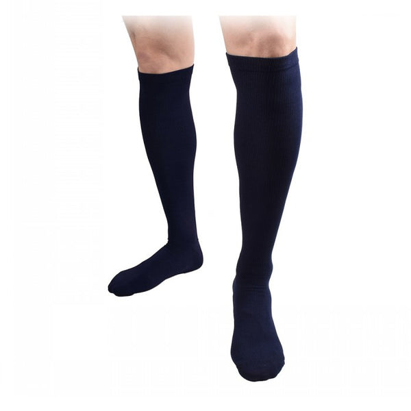 Blue Unisex Knee High Compression Socks