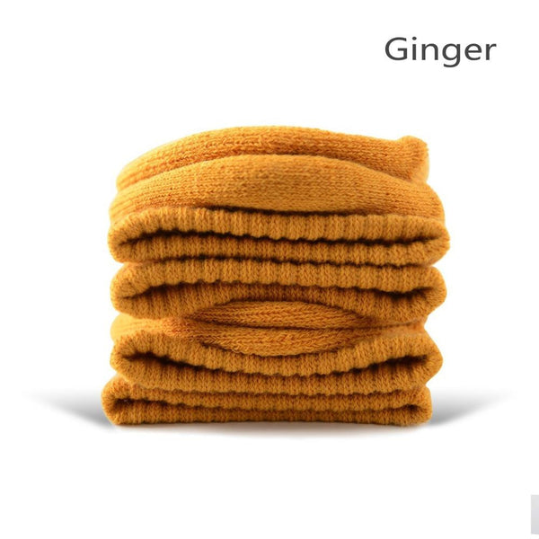 Ginger Cotton Terry-Loop Socks