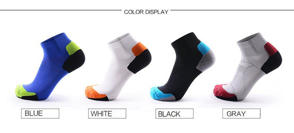 all  four colors CoolMax Compression Sports Socks