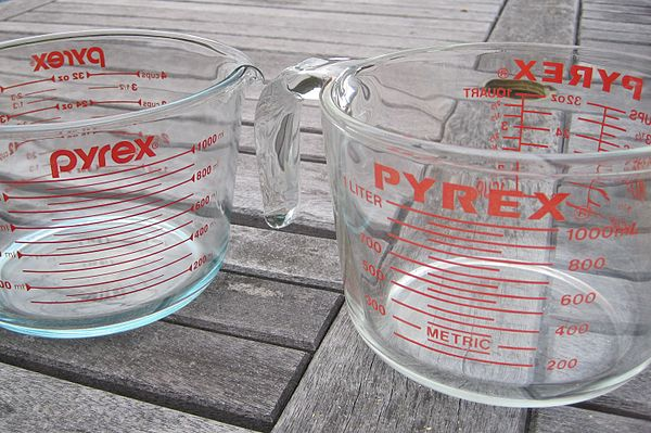 French PYREX vs American pyrex measuring cups