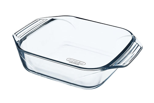 Imported French Pyrex Square 22x22 roaster pan
