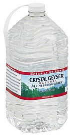 Crystal Geyser Natural Alpine Spring Water 1 Gallon
