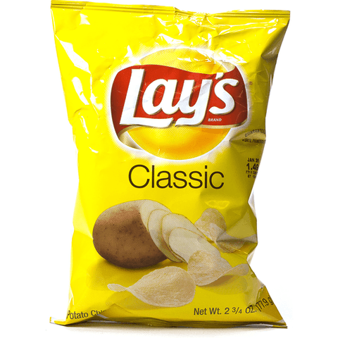 Lays Classic Potato Chips 2 1/17 OZ