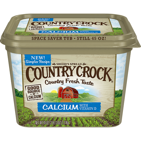Country Crock Shedd's Spread Vegetable Oil Spread 45 OZ