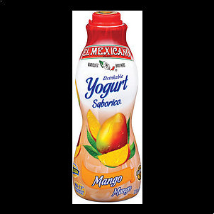 El Mexicano Drinkable Yogurt Mango 32 OZ
