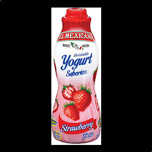 El Mexicano Drinkable Yogurt Strawberry 32 OZ