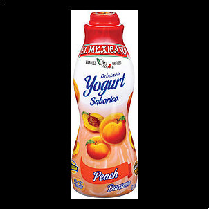 El Mexicano Drinkable Yogurt Peach 32 OZ