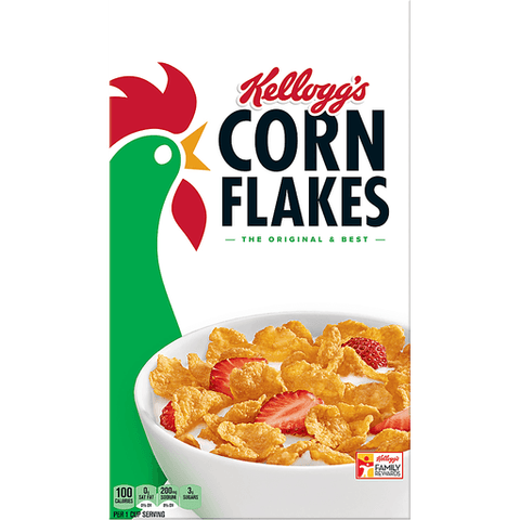 Kellogg's Corn Flakes Cereal 18 OZ