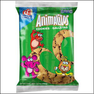GAMESA ANIMALITOS COOKIES 16 OZ