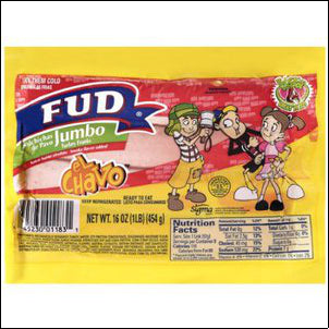 Fud Turkey Jumbo Franks 16 OZ