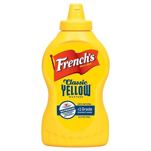 FRENCH'S CLASSIC YELLOW MUSTARD 14 OZ