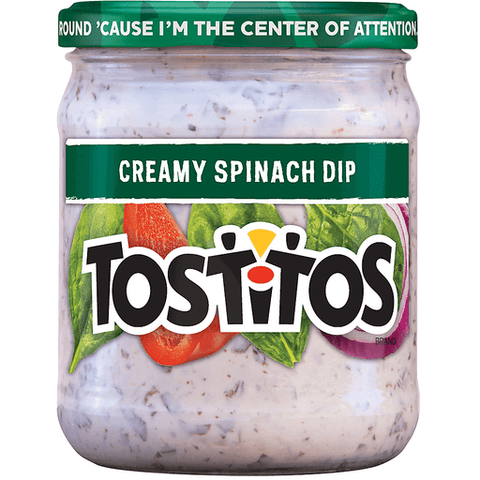 Tostitos Creamy Spinach Dip 15 OZ