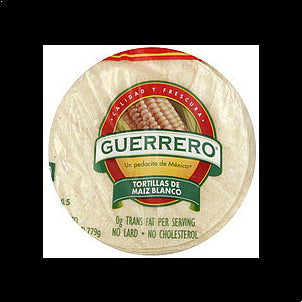 Guerrero Tortillas Corn, 30.0 ea 30 CT