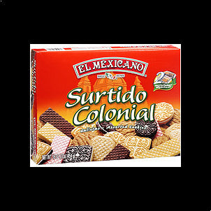 El Mexicano Cookies Surtido Colonial Assorted, 16.0 17.6 OZ