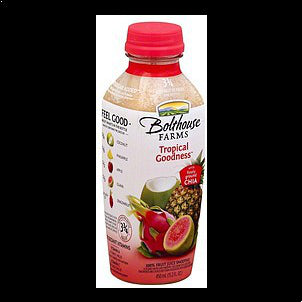 Bolthouse Farms 100% Fruit Juice Smoothie Tropical Goodness, 15.2 oz 15.2 OZ