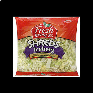 Fresh Express Iceberg Shreds , 8.0 oz 8 OZ
