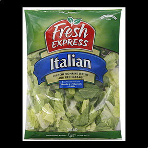 Fresh Express Salad Italian, 9.0 oz 10 OZ