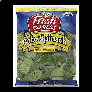 Fresh Express Spinach Baby, 5.0 oz 5 OZ