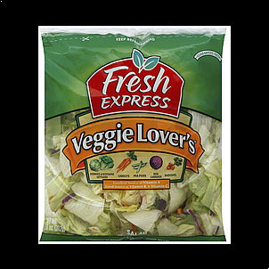 Fresh Express Salad Veggie Lover's, 11.0 oz 11 OZ