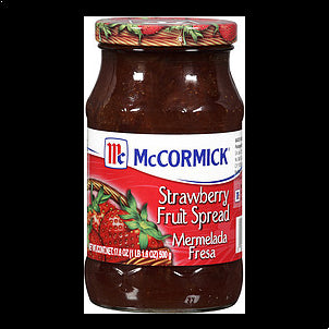 Mccormick Fruit Spread Strawberry 17.6 OZ