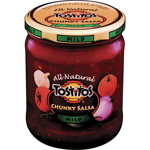 Tostitos All Natural Mild Chunky Salsa 15.5 OZ
