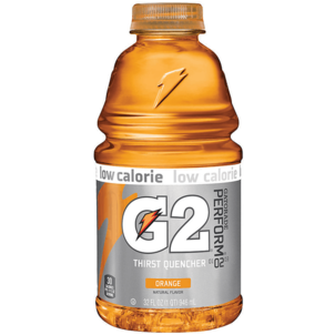Gatorade G2 Thirst Quencher, 02 Perform, Low Calorie, Orange