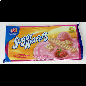 Gamesa Strawberry Wafers (Pack of 3) - 7 oz 6.7 OZ