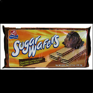 Gamesa Chocolate Sugar Wafers (Pack of 3) - 6.77 oz 6.7 OZ