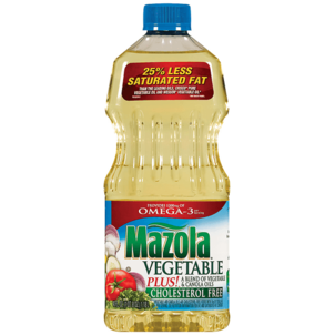 Mazola Blend of Vegetable & Canola Oils Vegetable Plus! 40 OZ