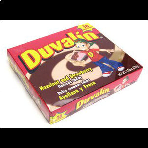 Duvalin Hazelnut Strawberry Candy Creams - 18 ct