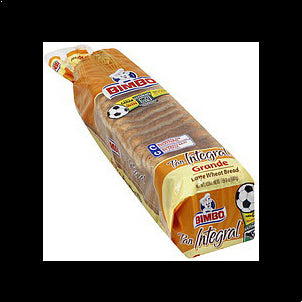 Bimbo Bread Wheat, Large, 24.0 oz 24 OZ
