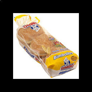 Bimbo Hamburger Buns With Sesame Seeds, Extra Large, 6.0 ea 19.7 OZ