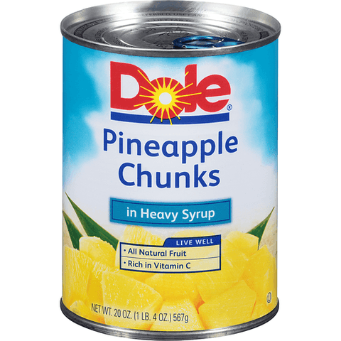 Dole Pineapple Chunks 20 OZ