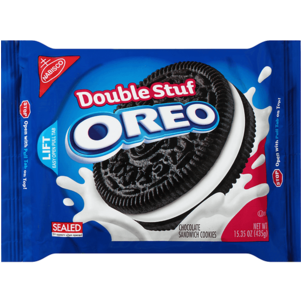 Oreo Double Stuf Sandwich Cookies 15.35 OZ