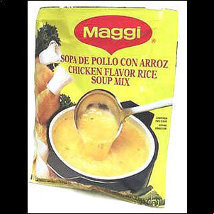 Maggi Chicken/Rice Soup (Pack of 3) - 2.1 oz