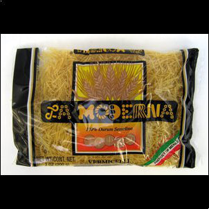La Moderna Vermicelli Pasta (Pack of 3) - 7 oz