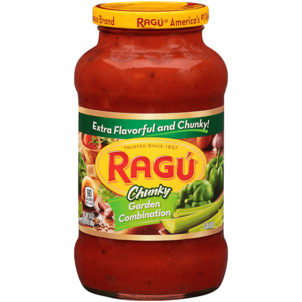 Ragu Chunky Sauce, Garden Combination 24 OZ