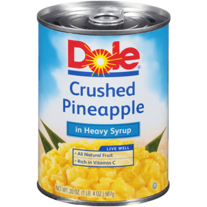 Dole Pineapple, Crushed 20 OZ