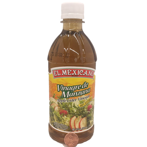 El Mexicano Vinagre de Manzana/ Apple Cider Vinegar 16 OZ,BTL