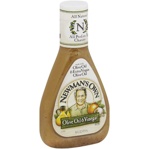 Newmans Own Dressing, Olive Oil & Vinegar 16 OZ