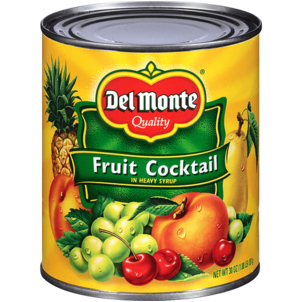 Del Monte Heavy Syrup Fruit Cocktail 30 OZ