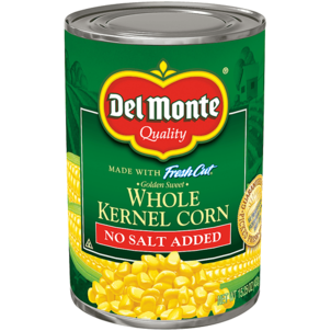 Del Monte Fresh Cut No Salt Added Whole Kernel Corn 15.25 OZ
